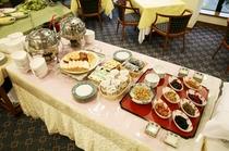 朝食和洋食バイキング・小鉢