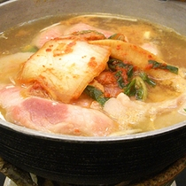 *<お料理一例>キムチ鍋