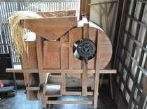 【唐箕】昭和の脱穀機