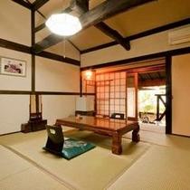 露天風呂付き客室 イメージ 吉・尾