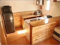 キッチン-6名用2LDK(床暖房付)