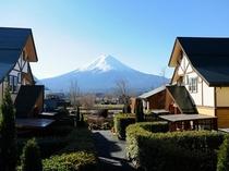 施設全景(富士山)