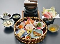 【夕食】春~茅花舞・花華后膳~