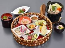 【夕食】≪冬・旬採花華后膳≫