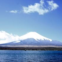 富士山と山中湖02