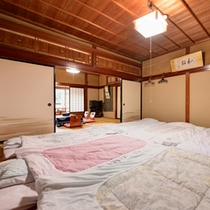 *和室二間(客室一例)/ファミリーやグループでのご宿泊に◎団欒のひと時をお過ごし下さい。