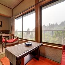 *和室6畳(客室一例)/お部屋からは新潟の田園風景をご覧いただけます。