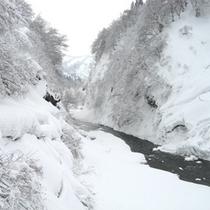 *清津峡(冬)