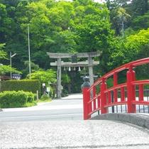 玉作湯神社 叶い石が人気