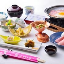 ■ご朝食一例/栄養バランスの整った旅館の朝ごはんで一日の元気をチャージ!