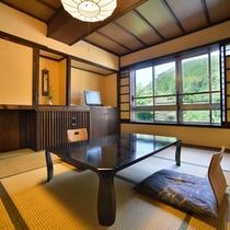 ■コネクティブ和室(客室一例)/畳の香りがほのかに薫るお部屋でのんびりとお寛ぎ下さい。