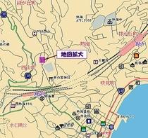 連月荘まで・地図1