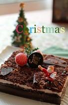 クリスマスプラン用ホールケーキ