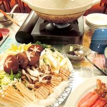 *料理一例/12/31~1/2はメイン料理のすき焼きや、カニしゃぶを交互にご用意!連泊もお勧めです!