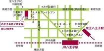 八王子スカイホテル案内図