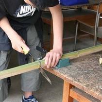 *【体験】竹トンボ作り体験
