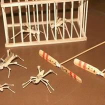 *【体験】竹細工体験/竹の虫作り