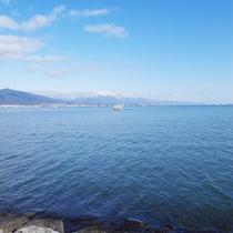 *早起きして琵琶湖半をぶらり散歩やジョギングが気持ちいい。。