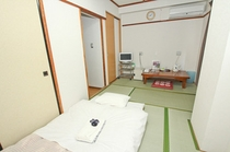 和室(バスなし・トイレ付)一例