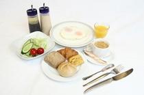 朝食無料!洋食セット例