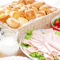 朝食ヴッフェ‗洋食一例