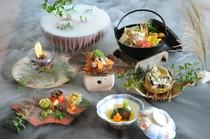 秋限定鍋の会席「葵」