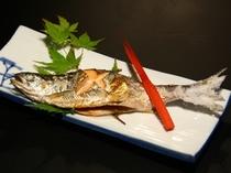 十和田湖名産「ひめます」の塩焼き