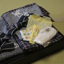 ◇お子様用浴衣&専用アメニティ一例