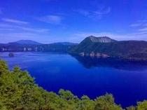 第一展望台から見た摩周湖