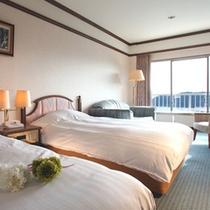 高層階洋室ツインルーム一例