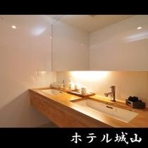 客室洗面台一例