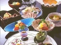 秋の味覚会席料理