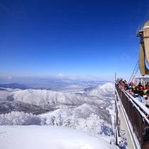 【竜王スキーパーク】雪景色