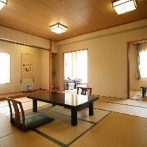 瀬戸内海が一望できるゆったり二間続きのお部屋