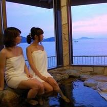 瀬戸内海に沈む夕陽は絶景です!