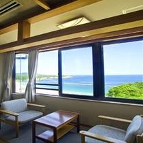 【高層階ルーム】海沿い24Mの高台に建つ当館の、その高層階からの眺めは相差屈指です!