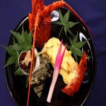 【伊勢海老】料理一例:黄金焼き