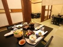 半個室の食事処