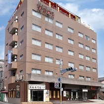 【外観】鹿児島中央駅西口より徒歩3分!交通至便