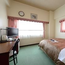【ダブル客室一例】カップルさん、ご夫婦でのお泊りにおすすめ。