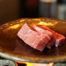 飛騨牛3種食べ比べプランイメージ 陶板