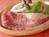 牛ロース陶板焼きは食べ放題