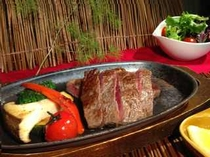 日帰り昼食プラン 仙台牛ステーキコース