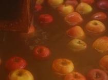 冬季限定 「大忠名物 魔法のりんご風呂」