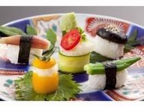 蔵王野菜の野菜寿司