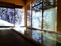 大浴場(冬)