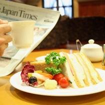 ゆったりソファ席の【ロトンダ】で優雅なブランチタイムを。〜ブランチ・遅めの朝食〜