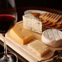 こだわりの4種類のチーズをご用意