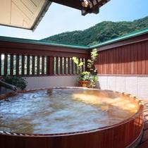展望大浴場【雪枝の湯】露天風呂