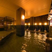 ◆【大浴場・楽湯】日本三大温泉の別府の湯を、どうぞ心ゆくまで、ご堪能くださいませ♪